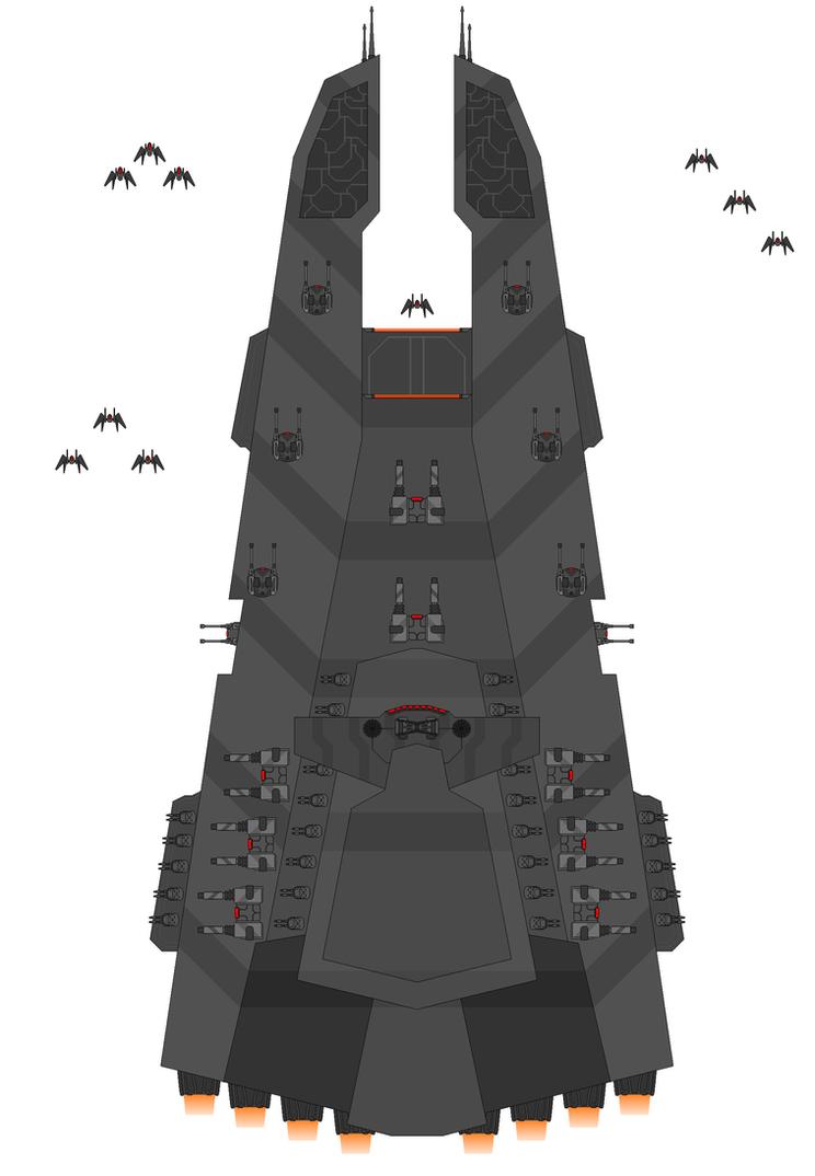 Star Wars Wrath-Class Star Destroyer Update 2 WIP by Seeras