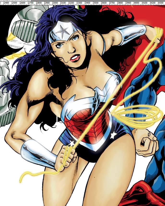 Wonder Woman by nilw