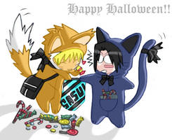 - Happy Halloween - by SasuNaruSasu-Club