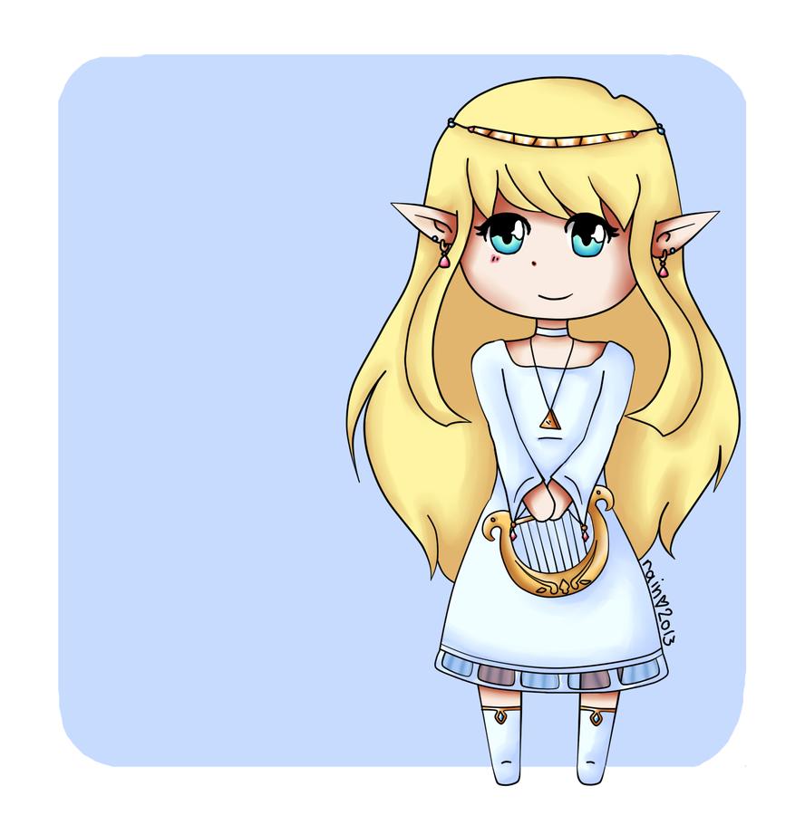 Gift :: Goddess Hylia by tsaaif