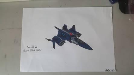 XV-02 - Hybrid's New Advanced Fighter