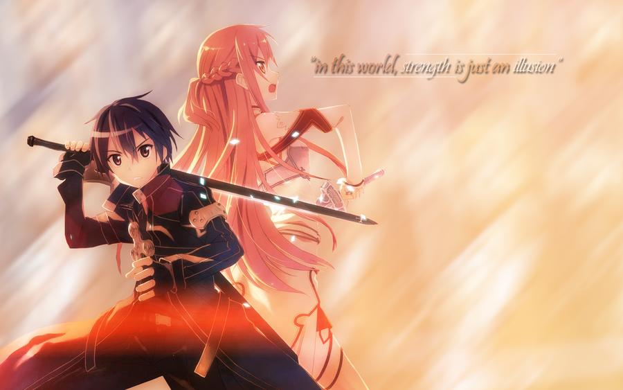 Sword Art Online Wallpaper by MrLogic
