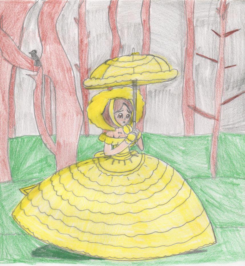 Yellow Azalea Trail Maid by Aquateen510