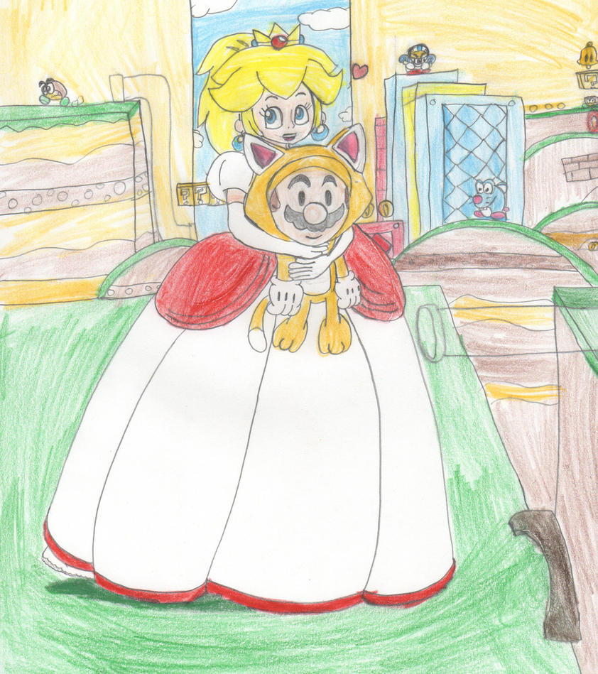 Super Mario 3D World by Aquateen510 on DeviantArt