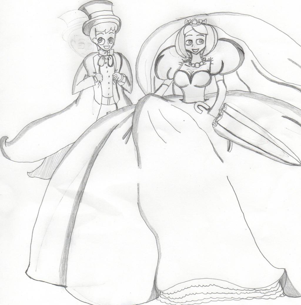 Wedding Couple by Aquateen510