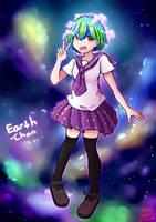 Earth chan fanart by ivanhandytirta