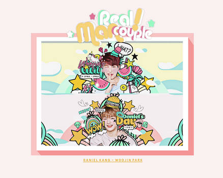 /27122017/ PSD.Real Man Couple.Daniel and Woojin