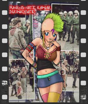 Punk is net kawaii, du wichser!