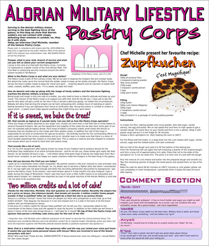 Alorian Lifestyle Blog: Pastry Corps