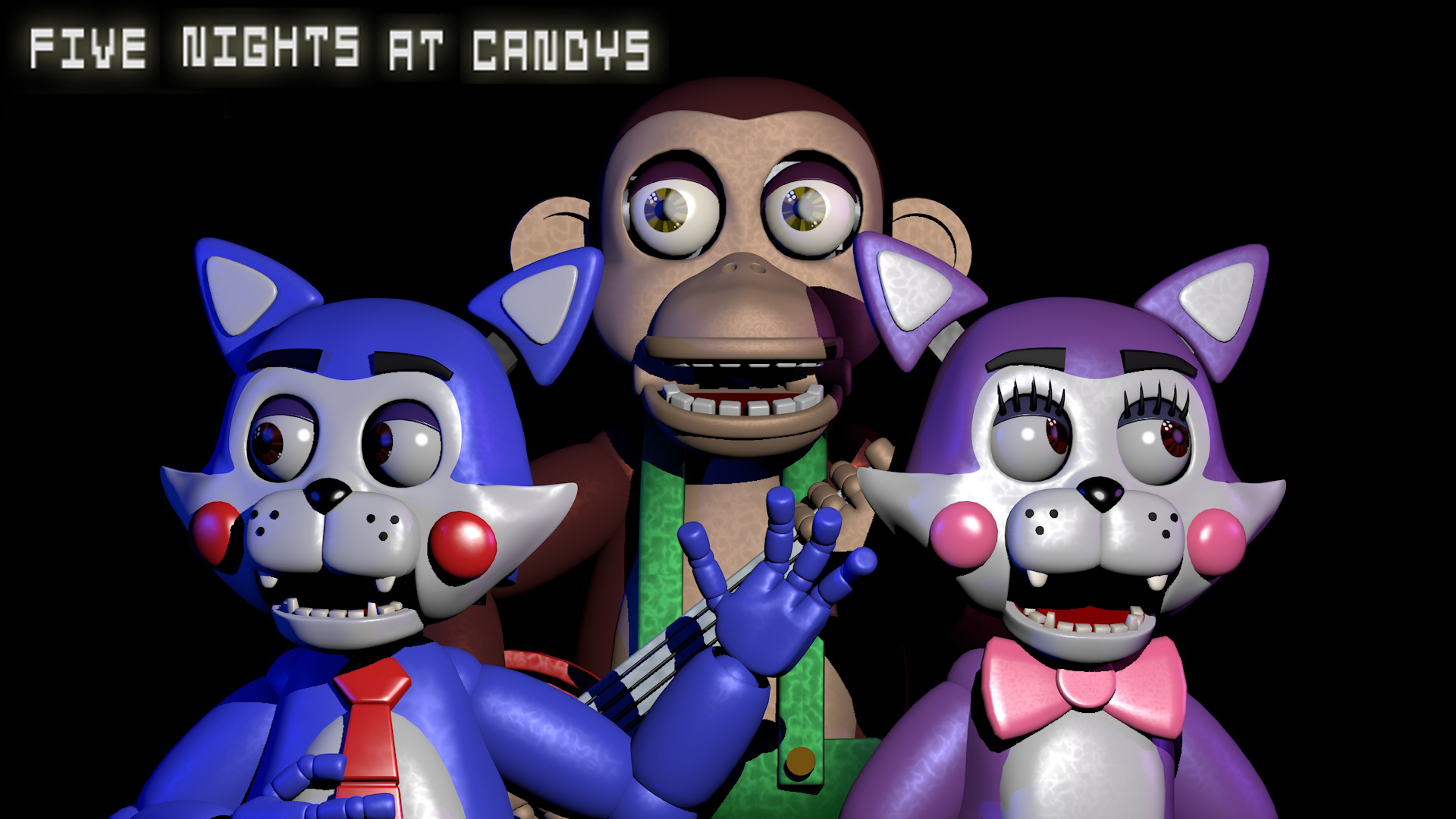 Five Nights At Candy S Wallpaper By Rosylina On Deviantart