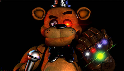 Blender - Freddy gets the Infinity Gauntlet!