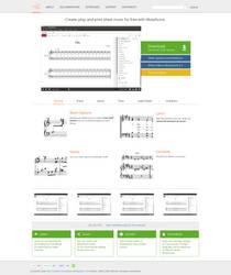 MuseScore Homepage by Mirek2
