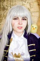 Hetalia Nyotalia Fem! Prussia cosplay by Bizarre-Deer