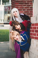 Fem! Bad Friends Trio Cosplay by Bizarre-Deer