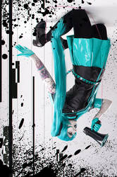 Hatsune Miku Love is War Cosplay by Bizarre-Deer