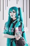 Hatsune Miku Love is War Cosplay by Bizarre-Deer