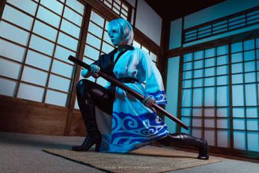 Ginko Sakata Cosplay by Bizarre-Deer