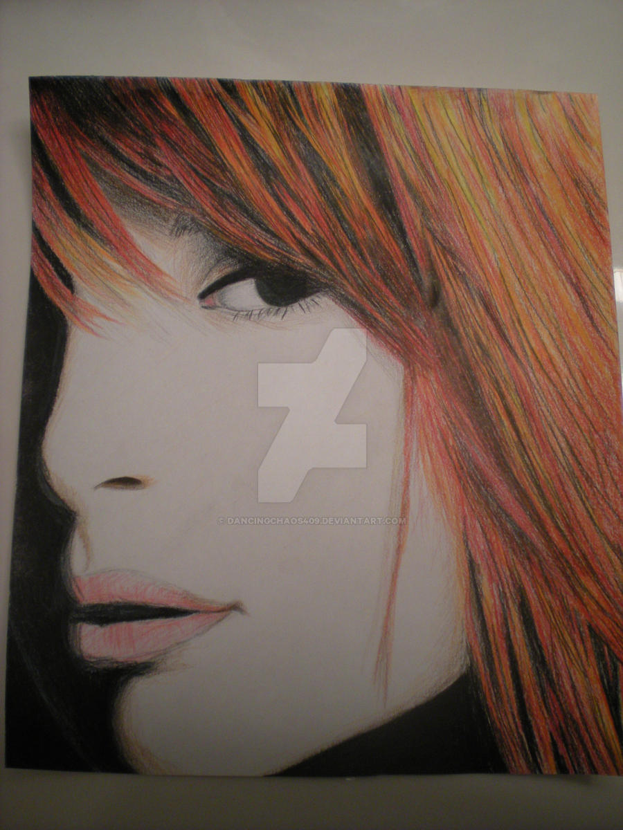 Hayley Williams Drawing by dancingchaos409