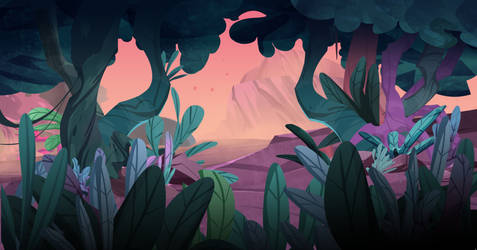 jungle background #2