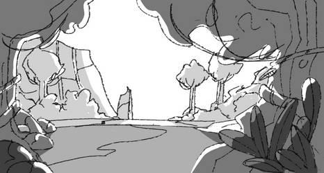 jungle sketch #2