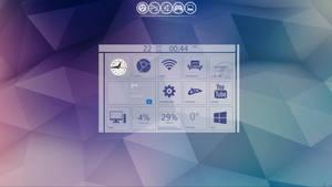 My desktop 2013-01-22 :: Simply Geometry by wineass