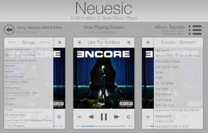 Neuesic - Minimal Music Player by wineass