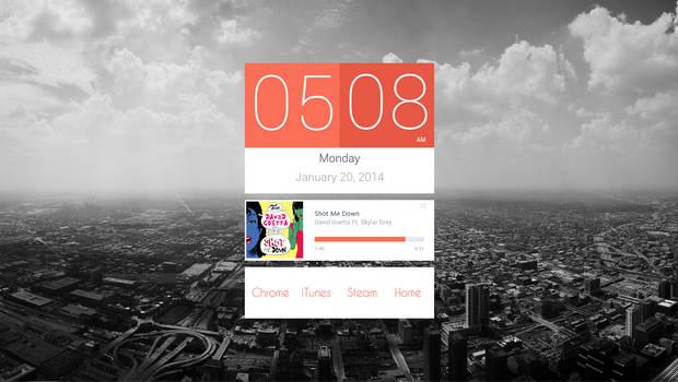 My desktop 2013-01-20 :: Shot me down