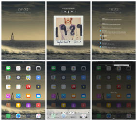 iPad Screenshot, minimal 1989
