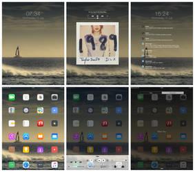 iPad Screenshot, minimal 1989 by wineass