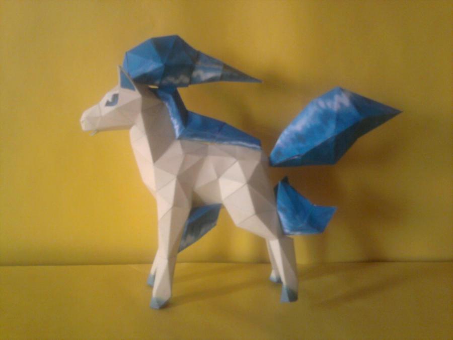 ponyta shiny by rafex17