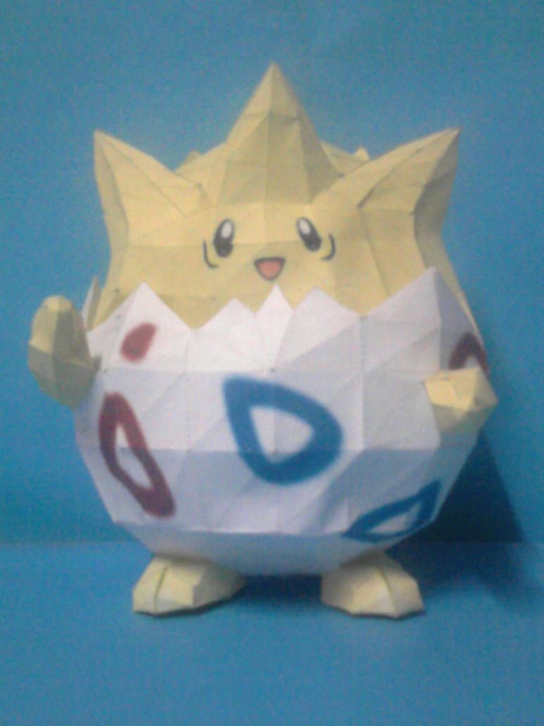togepi papercraft by rafex17