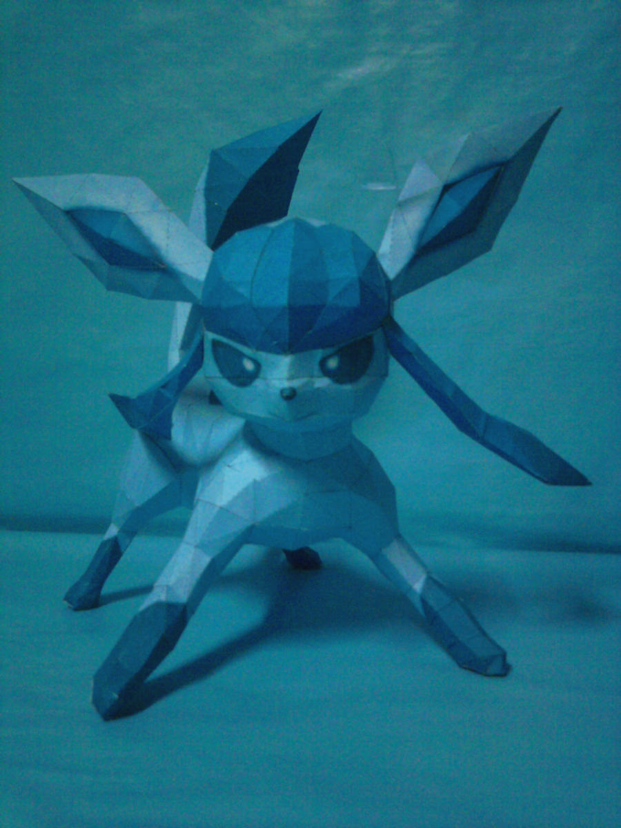 glaceon papercraft by rafex17