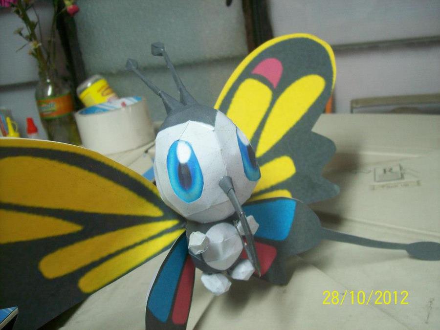 beautifly papercraft by rafex17