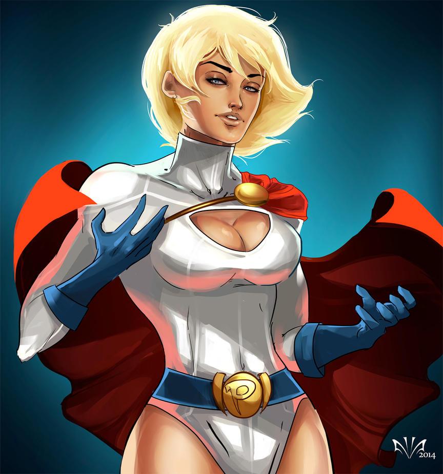 Power Girl by Arkenstar