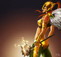 Hawkgirl by Arkenstellar