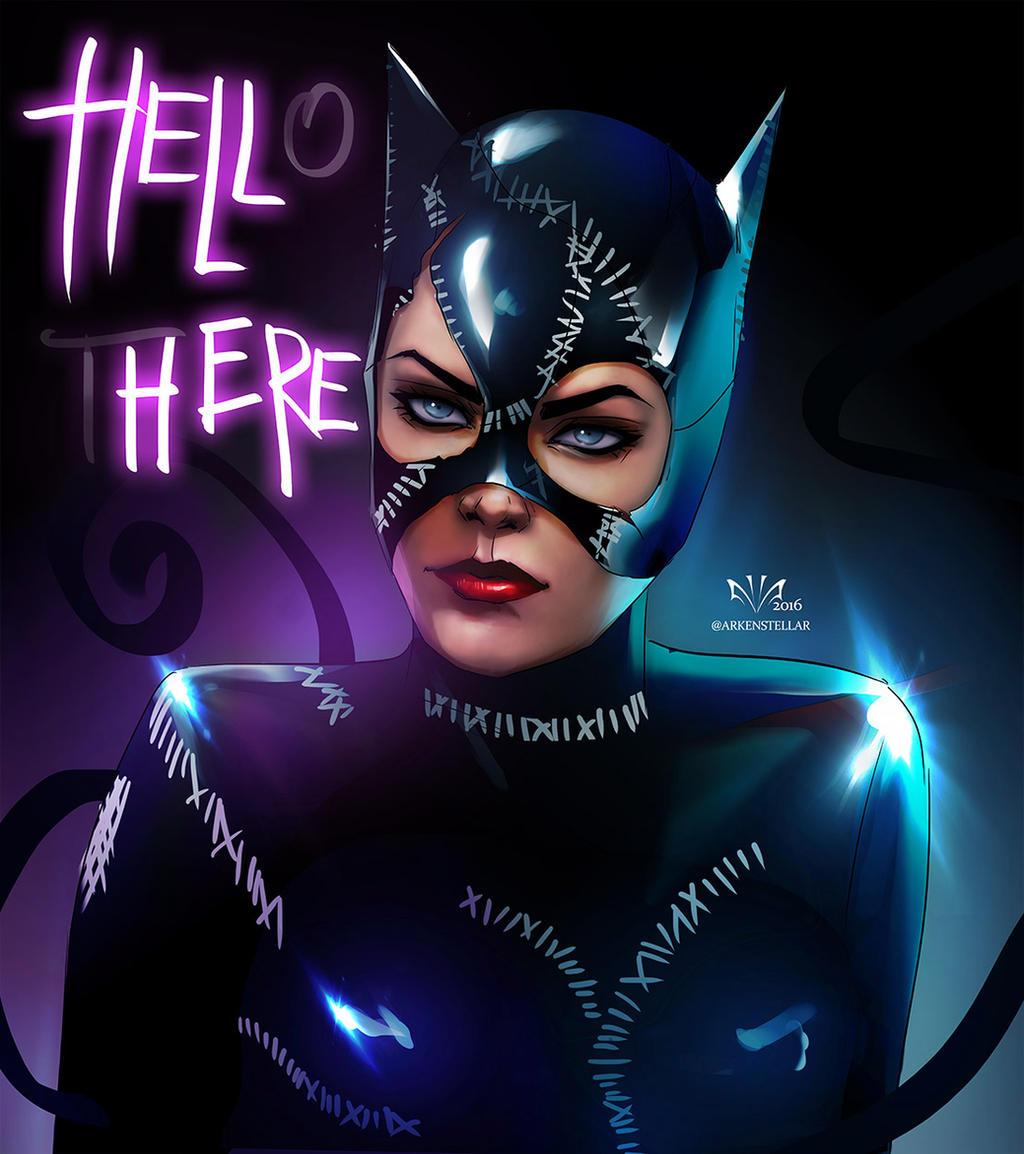 Black Cat And Catwoman Deviantart