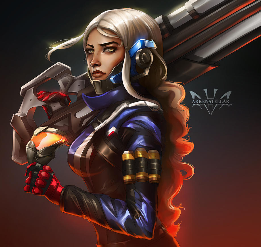 Soldier 76  by Arkenstellar