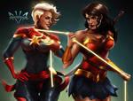 Captain Marvel  Wonder Woman
