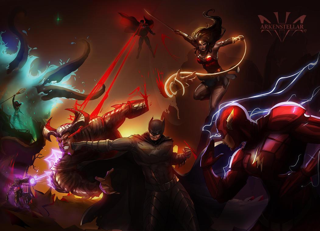 Justice League by Arkenstellar