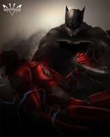 Batman  Flash by Arkenstellar