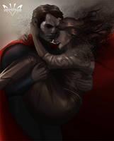 Superman  Lois by Arkenstellar