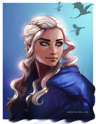 Daenerys by Arkenstellar