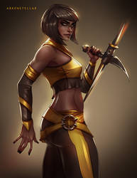 Tanya Mortal Kombat