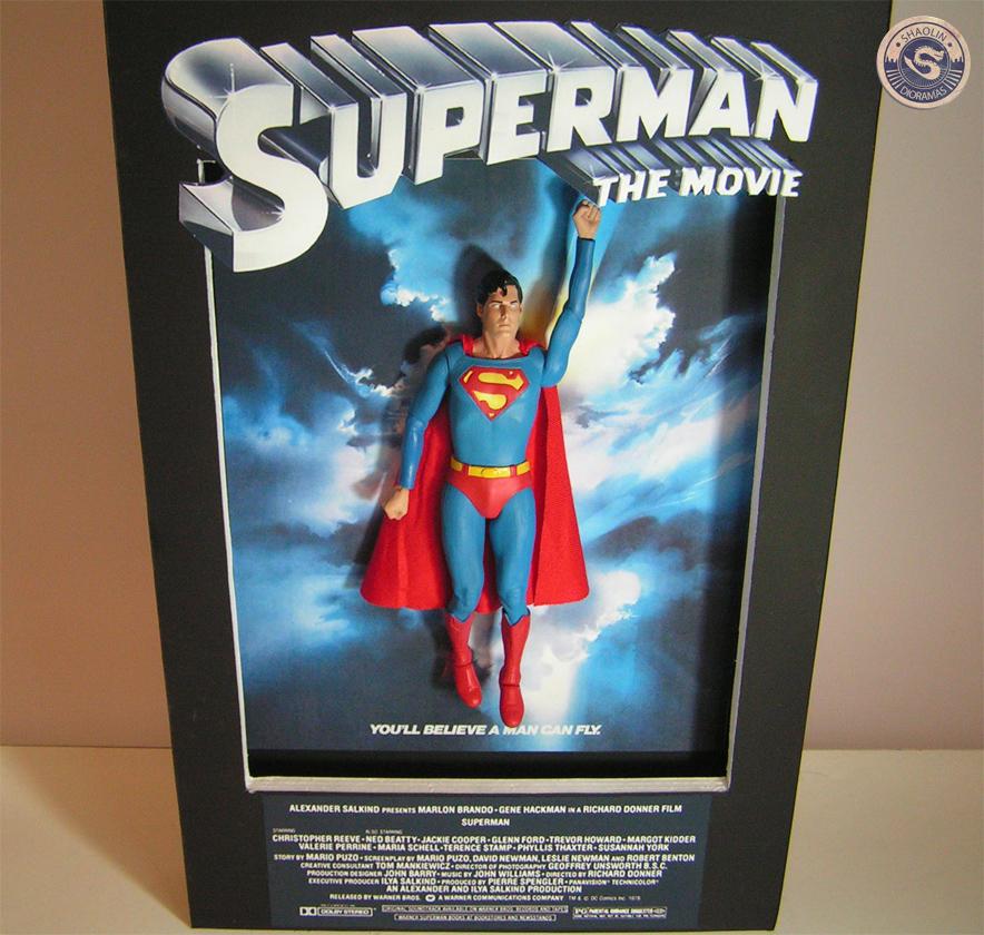 Superman 1978 3d Poster By Shaolincustoms On Deviantart