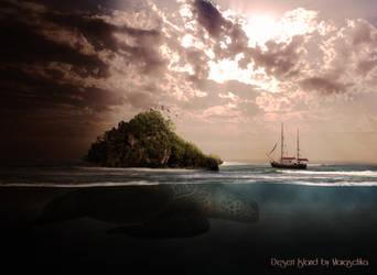 Desert island by maiaschka
