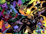 X-Men-WildCATs by Adam Hughes