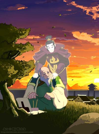 Iroh, In Honor of Mako by avatar-fan