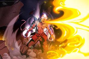 Avatar Aang2 by DarkKenjie by avatar-fan