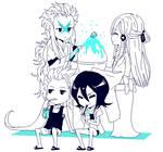 Rukia, Toushirou and zanpakuto