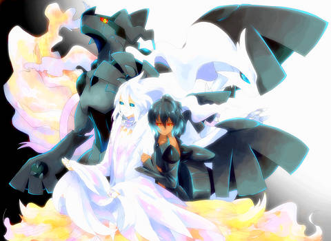 ZEKROM and RESHIRAM